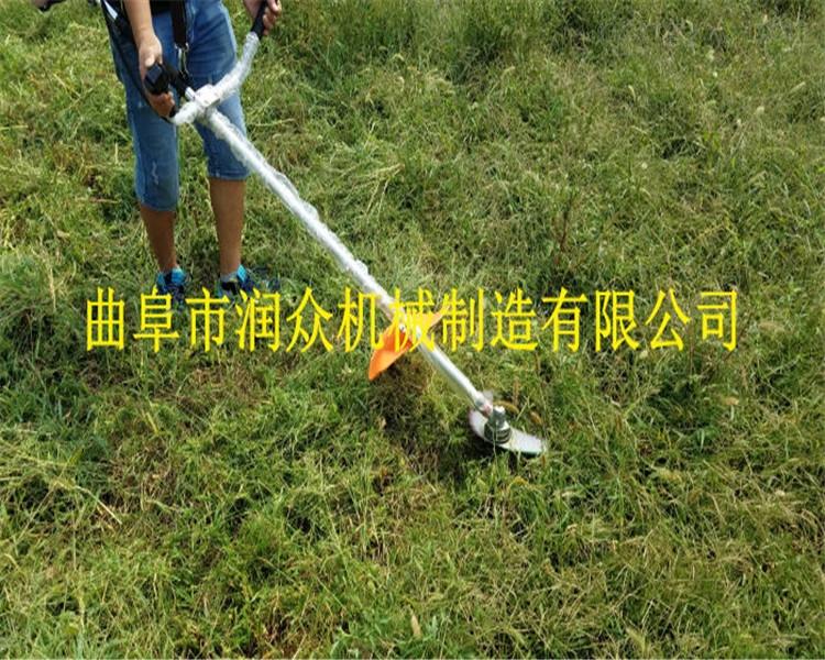 牧草割草机 新型灌木打草机 汽油割灌机