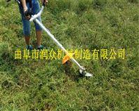 绿化带美化割灌机 斜挎式果园打草机