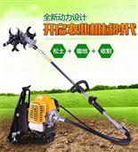 老人背式锄草机 万能小型旋耕机 松土除草机