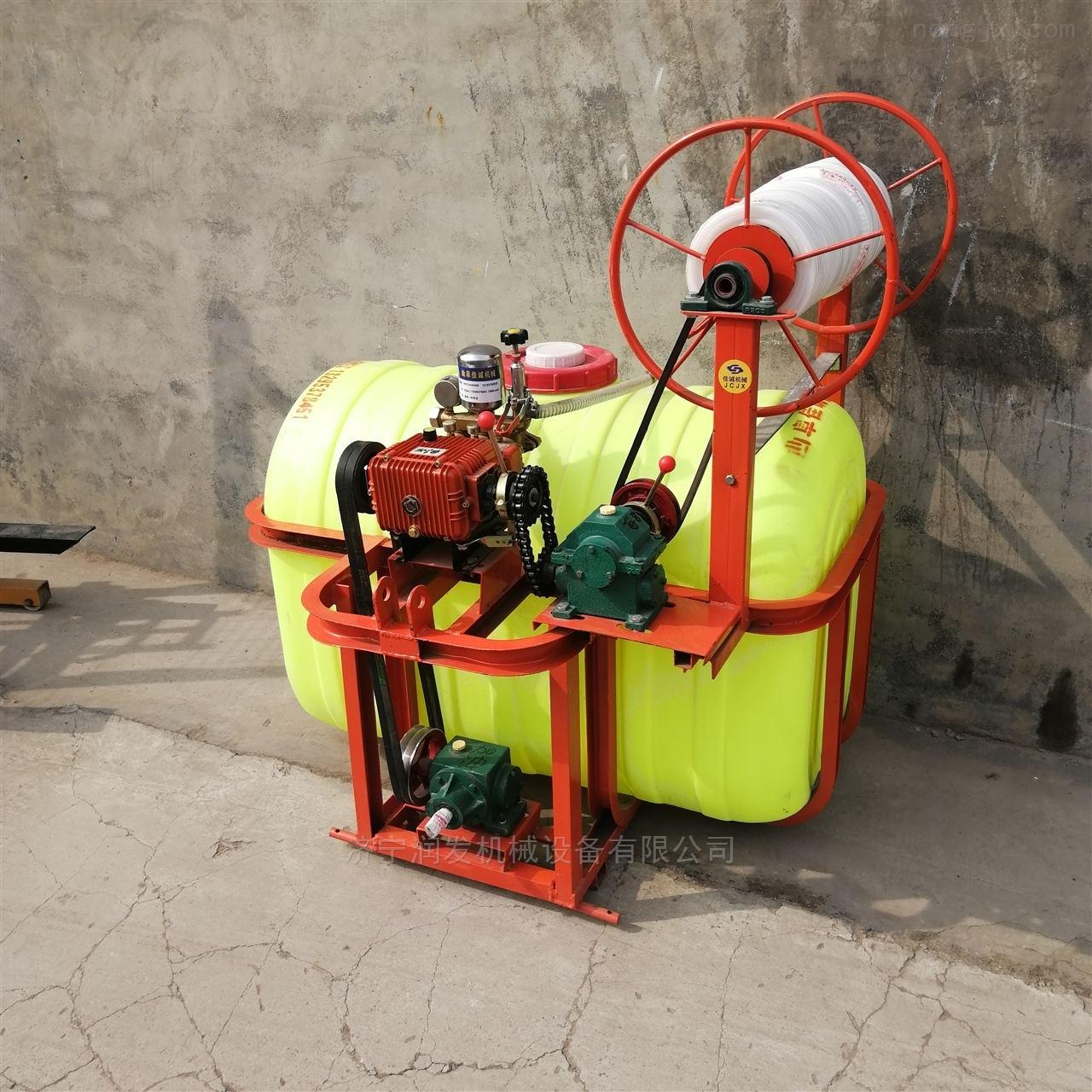 自动收管喷杆式玉米喷药机