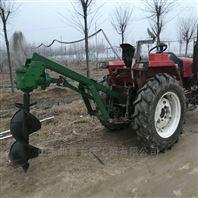 拖拉机带动悬挂式挖坑机 植树挖坑打洞机