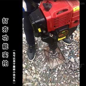 xnjx-2汽油式手提式起树机 汽油镐打夯移树机