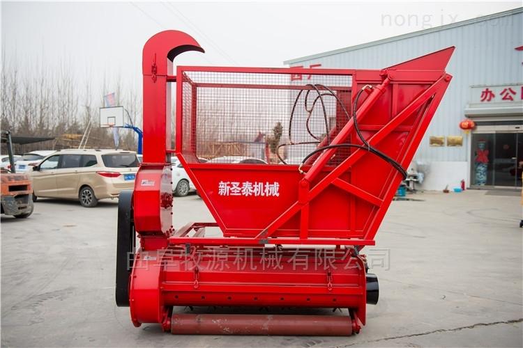 牵引式秸秆粉碎回收机 秸秆青贮收获机