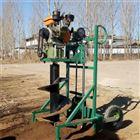 FX-WKJ山区斜坡种植钻坑机 栽树打坑机效果视频