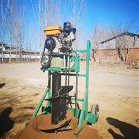 大马力植树挖坑机 手提式汽油打洞机价格