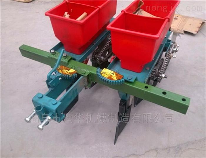 拖拉机带大豆玉米播种机 四轮带花生精播机