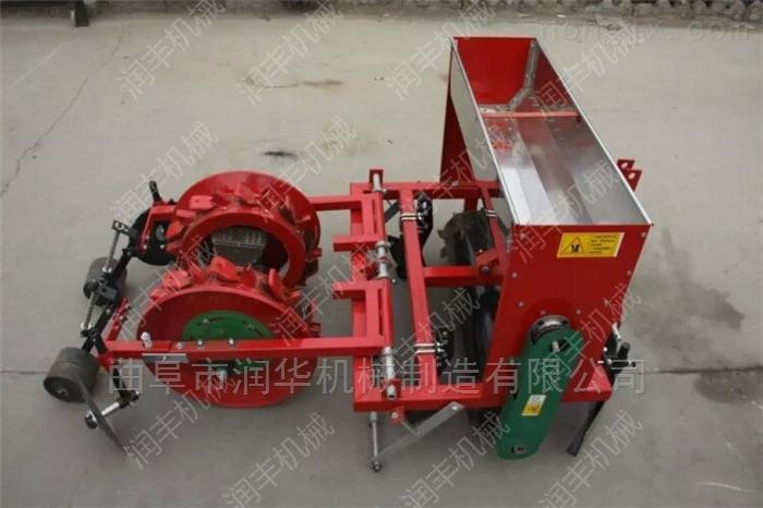 花生点播施肥精播机 四轮车悬挂苞米播种机