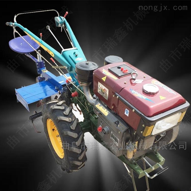 柴油大马力拖拉机 手扶犁地机