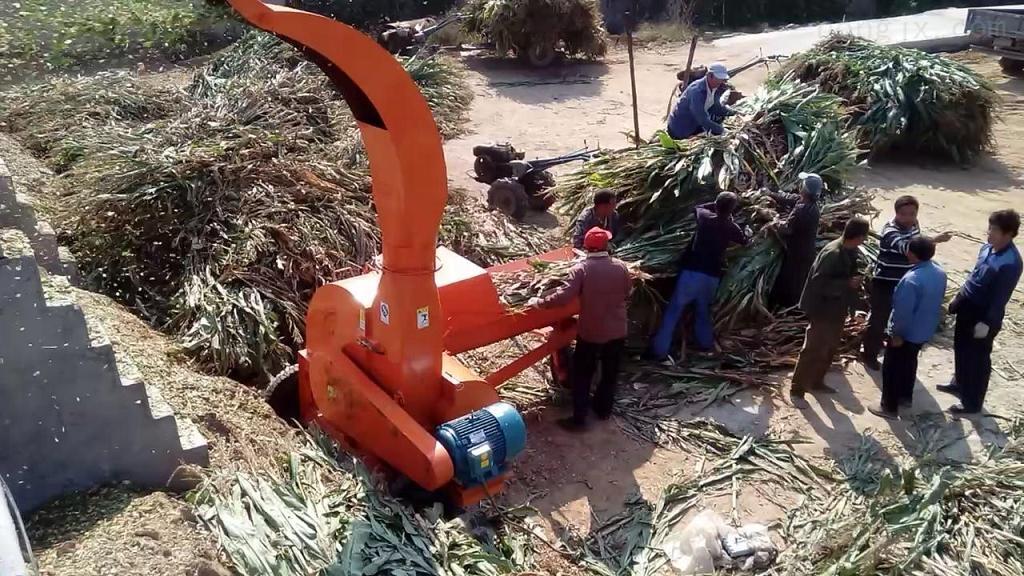 新型秸秆青贮铡草机旺季热销质量上乘
