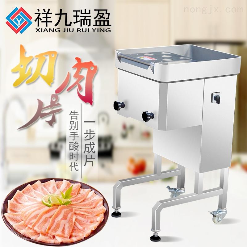 广州瑞盈厂家直供薄片切片机肉食加工设备