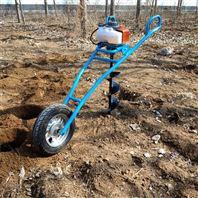 大直径植树挖坑机 四轮车带打坑机图片