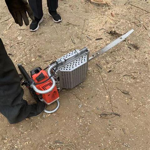 手提式苗圃移树机 锯齿式大马力挖树机