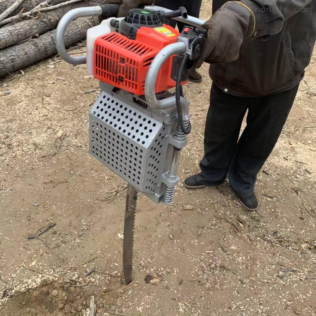 园林建设专用树木移栽机 链条式断根挖树机