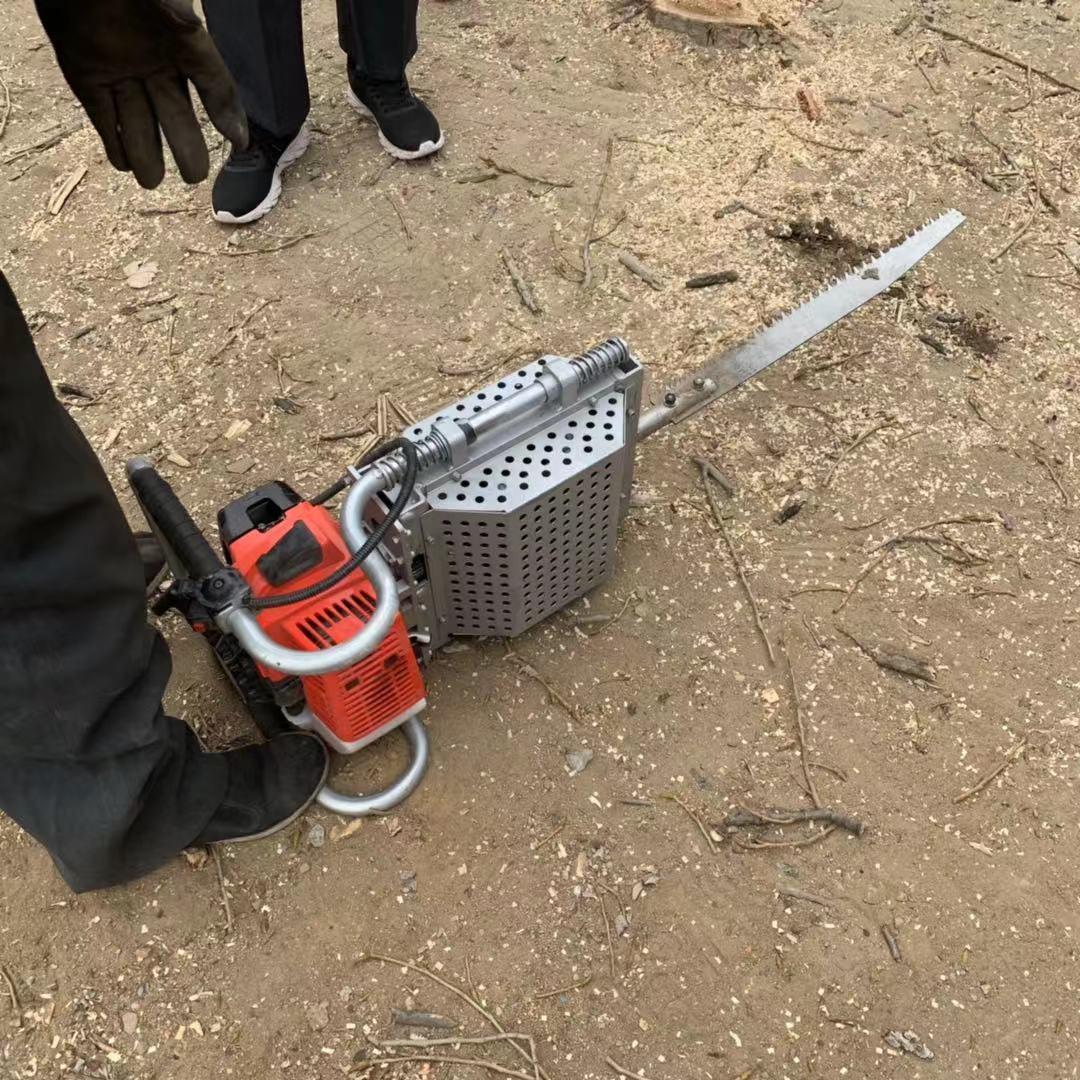 链条起树机 汽油铲头挖树机 带土球起苗机