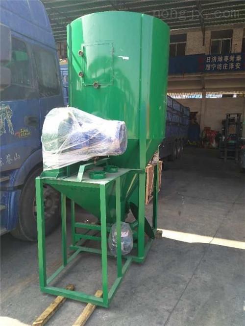 稻谷粉糠搅拌一体机 自动粉碎搅拌组合机