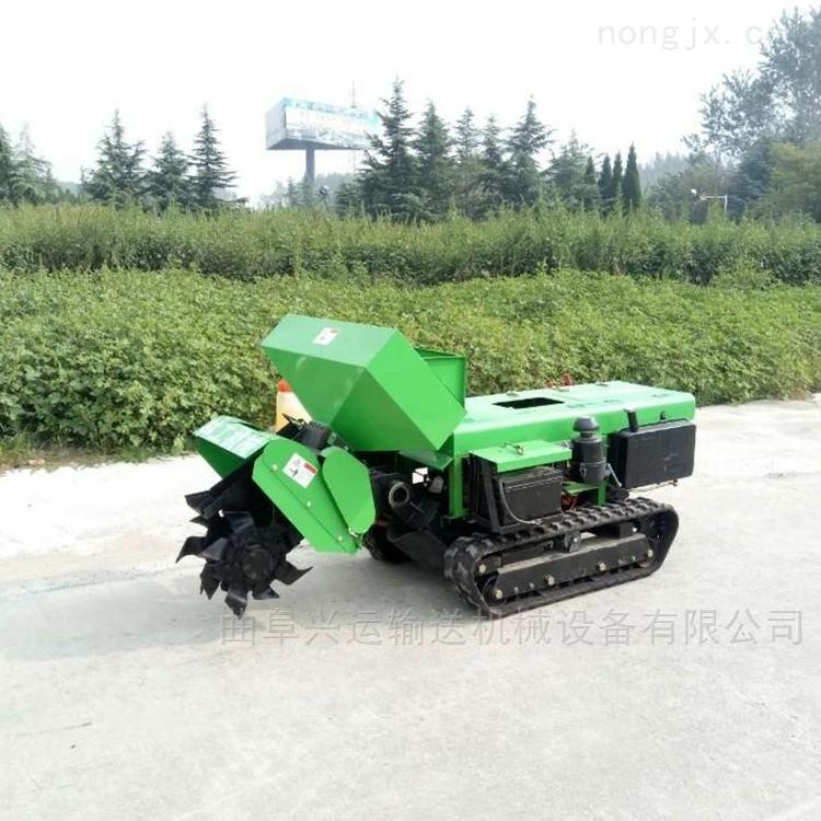 圆盘拖拉机开沟机质保 农作物开沟培土机适