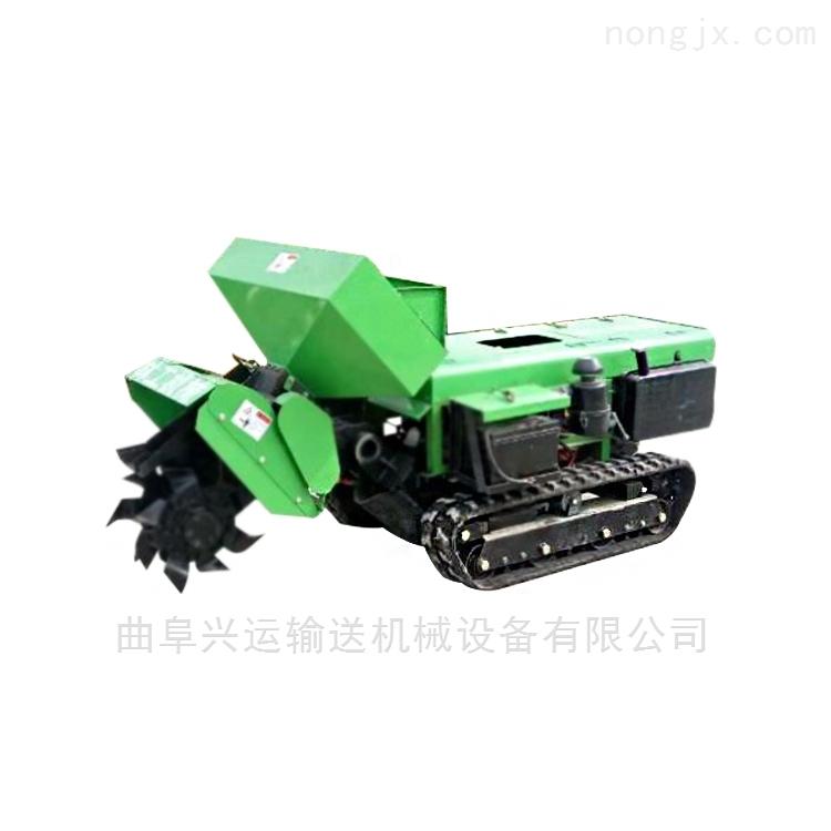 开沟机手扶式优质耐用 全自动果园施肥机重