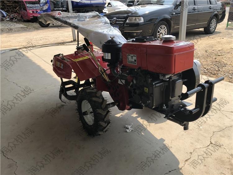 柴油水冷手扶旋耕机 多功能后旋微耕机