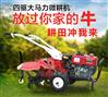 靈活輕便的手扶式旋耕機 草莓園松土除草機