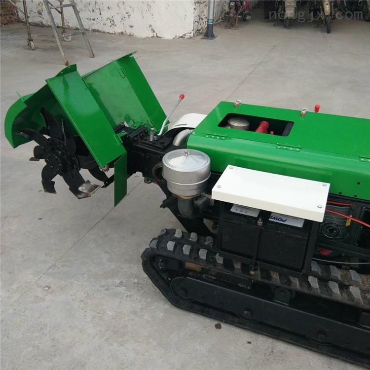 1.2米宽旋耕机 履带式微耕机 自走式埋沟机