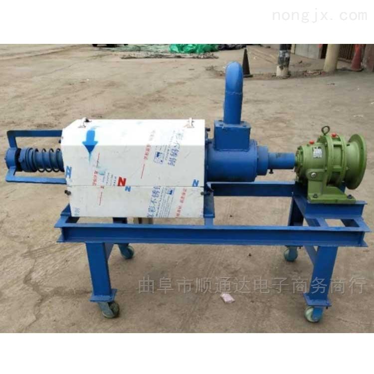 干湿分离机动物粪便脱水机 批发 粪便干湿分离机固液分离器可以处理猪粪xy1干