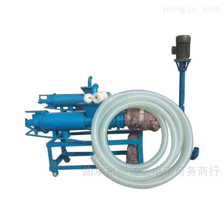 使用寿命长 bw250型矿用泥浆泵养殖设备定做 抽粪机螺旋xy1抽粪机