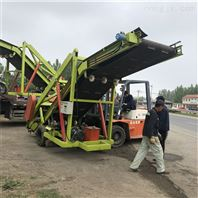 移动式四轮取料机 青贮全自动取料车
