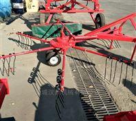 廠家直供拖拉機懸掛旋轉式摟草機攤嗮一體機