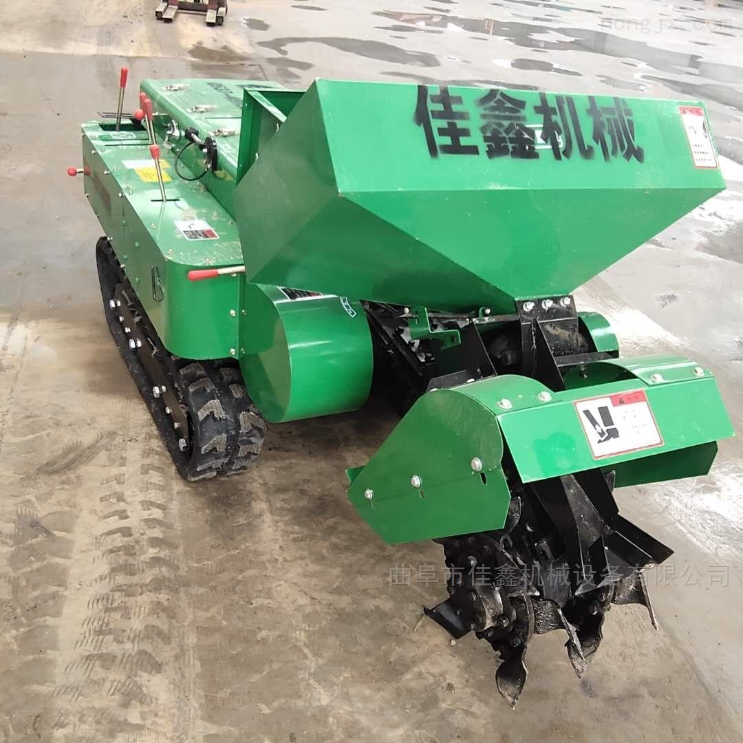 苹果树施肥机 35马力履带旋耕机价格
