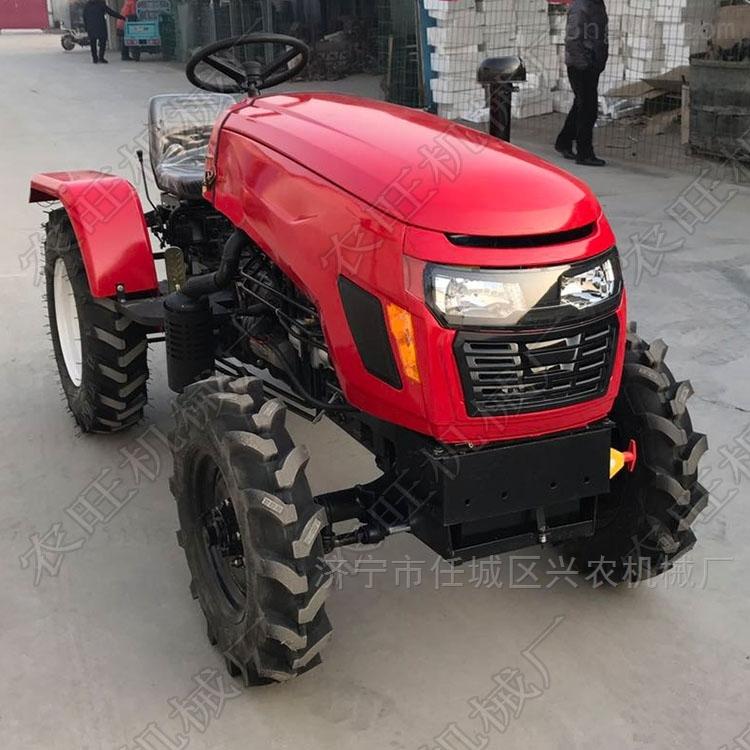 各种型号农用拖拉机 低矮四轮旋耕机