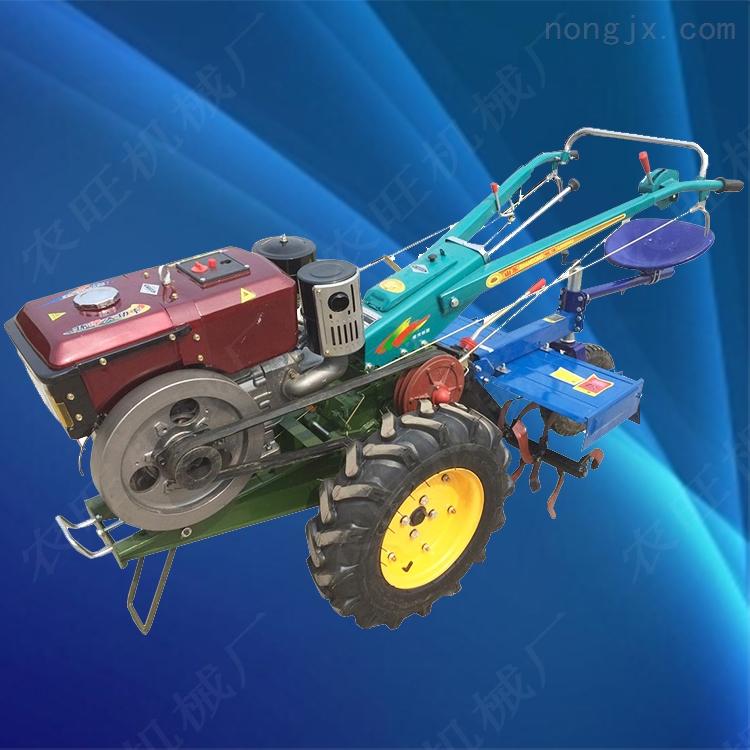 山地丘陵手扶耕地機 新款農用多功能拖拉機