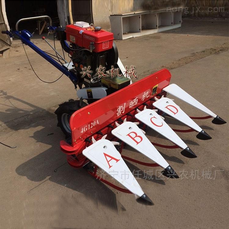 新疆玉米秸稈收割機 苜蓿草油菜割曬機