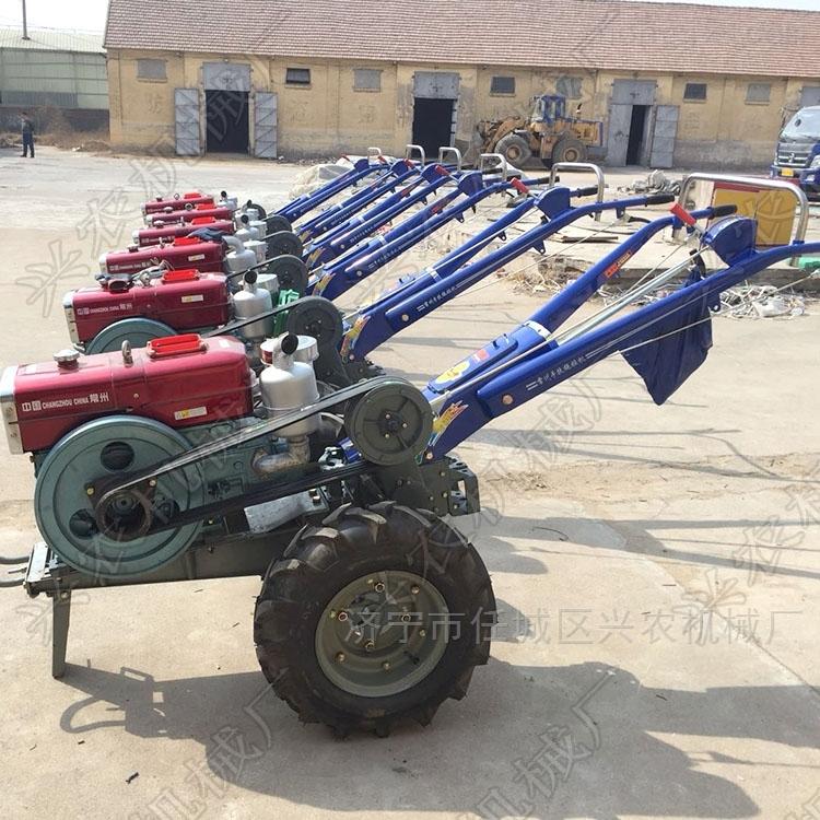 农用两轮手扶拖拉机 四驱小型微耕机