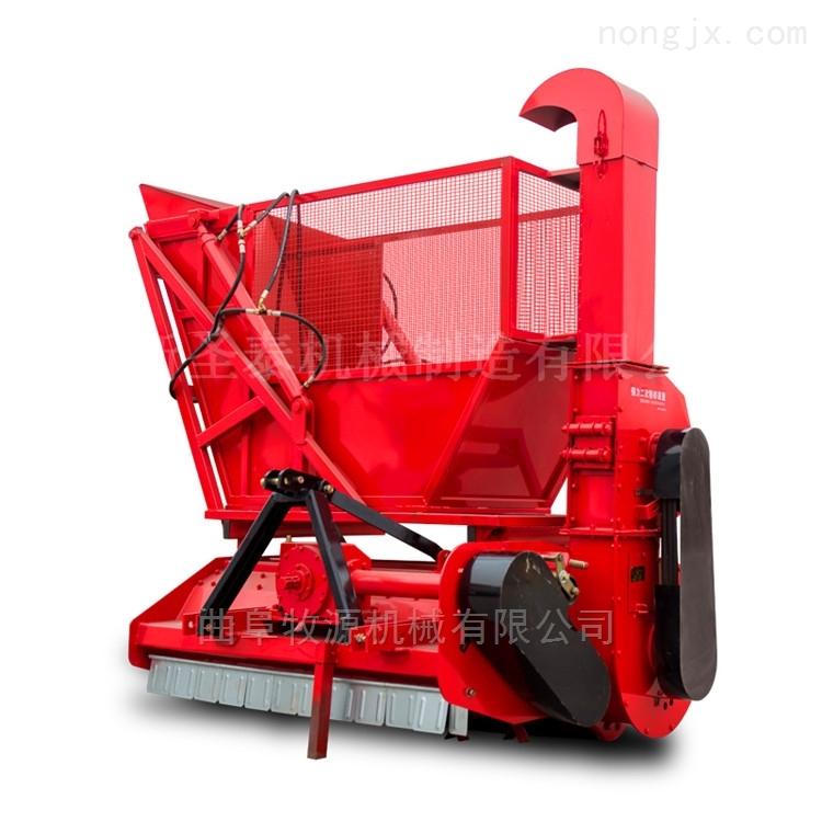 青储秸秆收割粉碎回收机优势