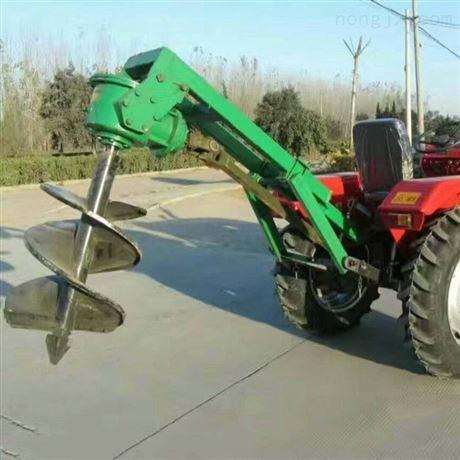 硬土地打眼挖坑机  汽油手持式钻孔机