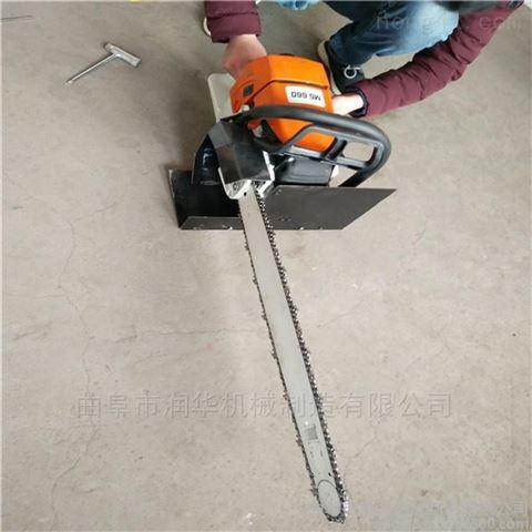 园林植保锯齿挖树机 轻巧灵活的链条移树机