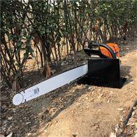 汽油动力锯齿起树机 带土球移苗挖树机