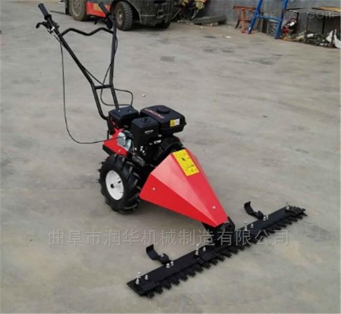 汽油自走式草坪机厂家 省油便携式割草机