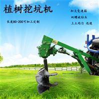 种树挖坑机长度80公分钻地打孔机可定制尺寸