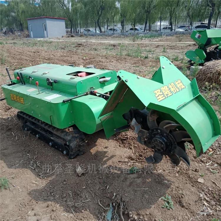 SL90-田园管理机自走式果园开沟机生产厂家