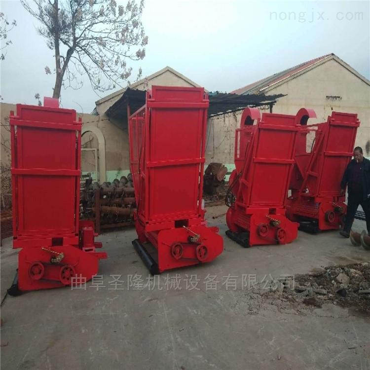 四轮牵引式玉米秸秆回收机生产厂家