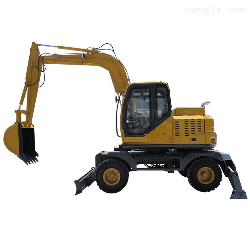 厂家直销快速型轮式挖掘机