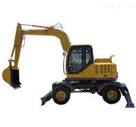 廠家直銷快速型輪式挖掘機