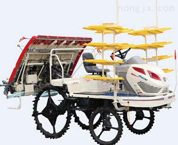 乘坐式高速水稻插秧机
