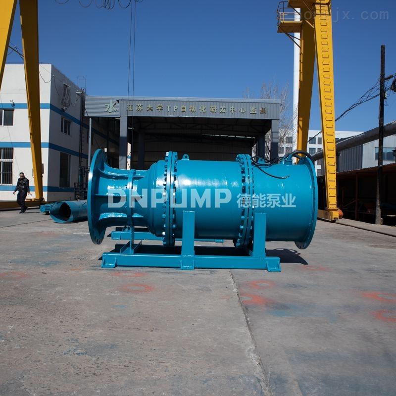 管道式潜水轴流泵