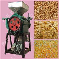 玉米高粱挤扁机 小麦大豆压片机