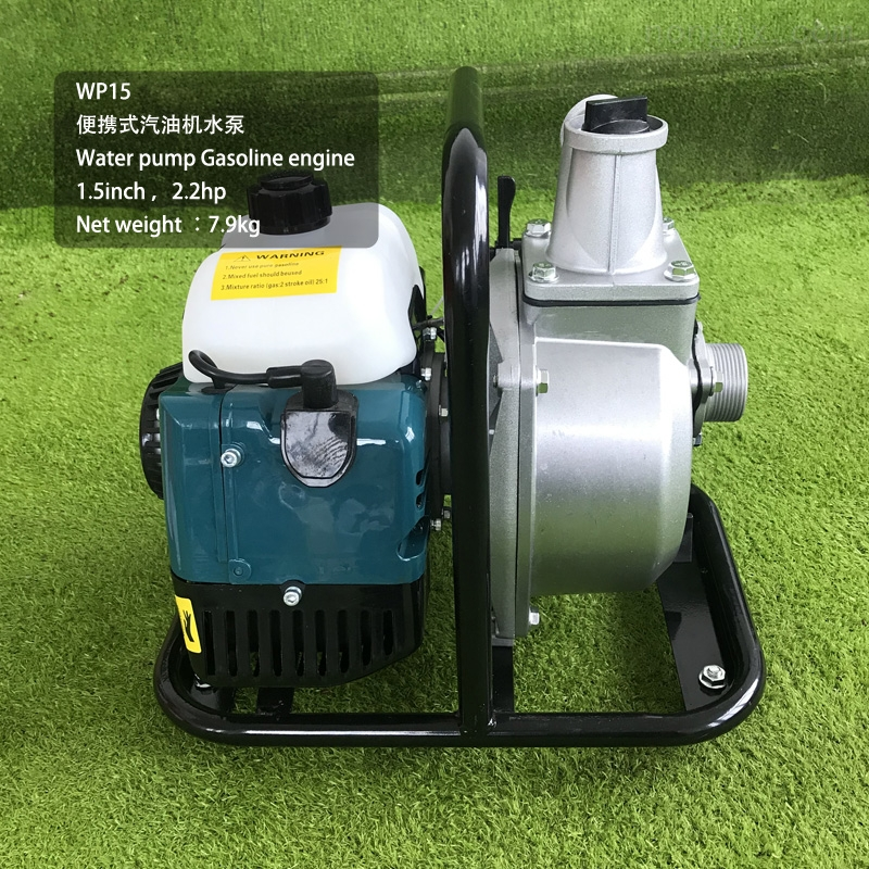 便携式二冲程汽油机水泵手提式抽水机