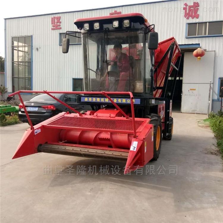 青贮机大型自走式玉米秸秆青储收获机