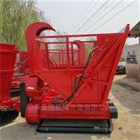 四輪帶秸稈粉碎回收機玉米秸稈青貯機