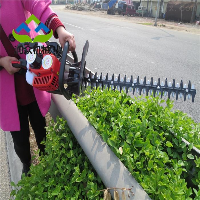 公路绿化带修剪机 手持多功能绿篱机视频